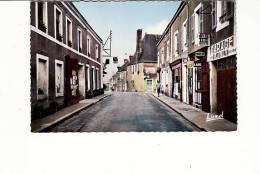 BRULON - Rue Charles Barreau - Garage Joly, Pub Shell/Dunlop - Brulon