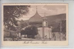 BÖHMEN & MÄHREN, MARKT EISENSTEIN - ZELEZNA RUDA, Kirche 1914, Briefmarke Fehlt - Sudeten