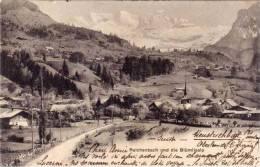ERICENBCH Und Die Blümlisalp - Cachet Rouge Suisse ( Bains De Heustru.... )  (49965) - Ohne Zuordnung