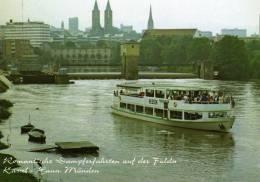 00491 Motorschiff HESSEN Auf Der Fulda - Personenschiffahrt Söllner - Autres