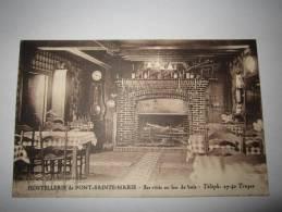 cpa Hostellerie de Pont Sainte Marie - Les R�tis au feu de Bois - H�tel Restaurant, salle � manger