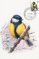 MC BUZIN  Bird / Oiseau  Mésange Charbonnière / Koolmees / Parus Major / Great Tit /  Kohlmeise   1992 - Sperlingsvögel & Singvögel