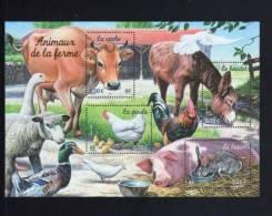 -FRANCE 2004--BLOC Numero YT 69** NATURE DE FRANCE Animaux De La Ferme - Mint/Hinged