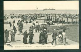 Boulogne Sur Mer -  La Plage Vue De La Digue  Uf29 - Boulogne Sur Mer