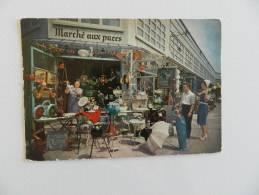 Cp  Paris Le Marché Aux Puces - France