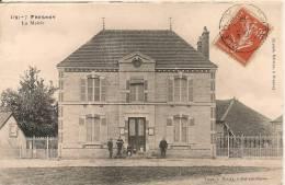 Cpa10 Fresnoy Le Chateau La Mairie - Autres Communes