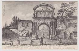 AUXERRE - ANCIEN N° 6 - VUE DU PORTAIL DE ST PERE AU XVIIIe SIECLE - Auxerre