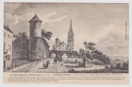 AUXERRE - ANCIEN N° 316 - VUE DE L' ENCLOS DE L' ABBAYE DE SAINT GERMAIN AU XVIIIe SIECLE - Auxerre