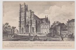 AUXERRE - ANCIEN N° 313 - VUE DE LA CATHEDRALE PRISE DE FACE AU XVIIIe SIECLE - Auxerre