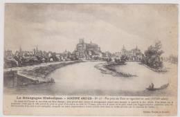 AUXERRE - ANCIEN N° 17 - VUE PRISE DU PONT EN REGARDANT EN AVAL AU XVIIIe SIECLE - Auxerre