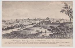 AUXERRE - ANCIEN N° 307- VUE DE LA VILLE AU XVIIIe SIECLE - Auxerre