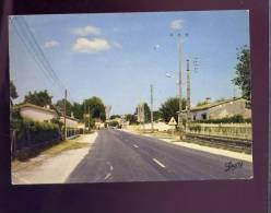 CP (33) Saint Jean D'Illac - Route De Bordeaux - L'église Et Le Château D'eau - Autres Communes
