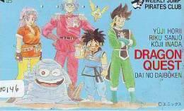 MANGA Télécarte Japon * Cinéma * ANIMATE  (10.146) PHONECARD JAPAN * MOVIE * DRAGON QUEST - Film