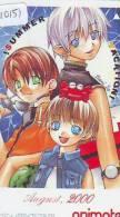 MANGA Télécarte Japon * Cinéma * ANIMATE  (10.151) PHONECARD JAPAN * MOVIE * AUGUST 2000 - Film