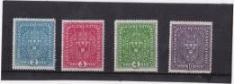 19 17 WAPPENAUSGABE HELLE FARBEN SATZ ** - Unused Stamps