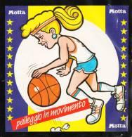 Autoadesivo  Motta  -  Basket  Giovanile.  Caratteristico, Raro - Sport