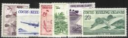 1ère Série De 1963, Série Complète Neuve Sans Charnière - Cocos (Keeling) Islands