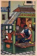 ILLUSTRATEUR HETREAU VIEUX METIER CORDONIER CORDONNERIE  ILLUSTRATION 1945 - Non Classificati