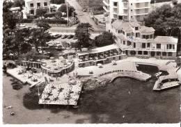"""Cap D´Antibes (Alpes-Maritimes)-1960-Hô Tel Restaurant """"La Baie Dorée""""-Plage De La Garoupe-Flamme Festival Jazz (scan) - Antibes"""