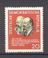 DDR    822  * *  TB     Lenine - Unused Stamps
