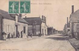 10) Salon.- (Aube) Route D ´ Allibaudieres - (belle Animation) - Sin Clasificación
