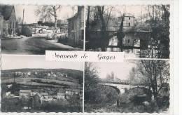 GAGES - Souvenir - 4 Vues - France