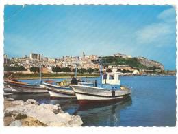 G986 Termini Imerese (Palermo) - Panorama Dal Mare - Barche Boat Bateaux / Viaggiata 1984 - Italia