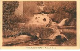 CPA BELGIQUE FONTAINE L'EVEQUE PONT De La SOURCE - Fontaine-l'Eveque