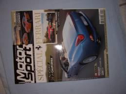 Magazine Motorsport (n25) (ref:05376) (novembre/decembre 2008) - Automobili