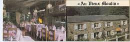 "Restaurant ""AU VIEUX MOULIN"" - M. Et Mme J. Habotte - Petit-Coo, 4970 COO-STAVELOT. - Hotel Keycards"