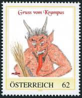 """Personalisierte Briefmarke PM 8103404 """"KRAMPUS Kr 4"""" - Personalisierte Briefmarken"""