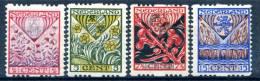 Pays-Bas 1927 - Y&T N° 195/198 * - 1891-1948 (Wilhelmine)