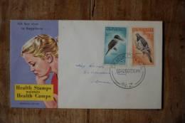 I-4  1960  BIRDS   KOTARE, KERERU - FDC