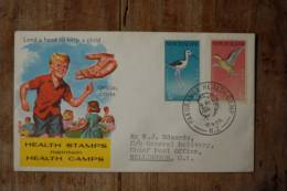 I-4  1959  HEALTH STAMPS    BIRDS - FDC