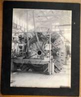 RARE PHOTO ORIGINALE U.S.A COFFRES FORTS MANGANESE STEEL VAULT EPOQUE 1900 - Photos