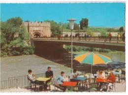 EUROPE SERBIA NIŠ THE BRIGDE AND THE CAFFE POSTCARD 1967. - Serbia