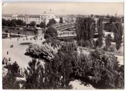 EUROPE SERBIA NIŠ THE BRIDGE AND THE PARK POSTCARD 1960. - Serbia
