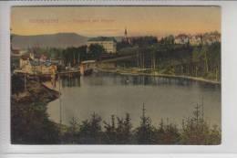 BÖHMEN & MÄHREN, REICHENBERG, Talsperre Mit Kloster 1908 - Sudeten