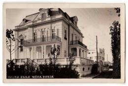 EUROPE SERBIA NIŠKA BANJA CITY AREA POSTCARD 1939. - Serbia