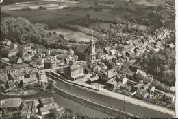 Port Sur Saône - Vue Aérienne - Le Centre De La Ville, L´église, La Mairie Et Le Canal - Altri Comuni