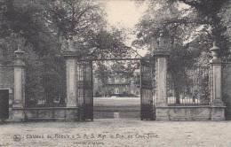 Château Du Roeulx à S A S Mgr Le Pce De Croy-Solre (cachet Bataillon) - Le Roeulx