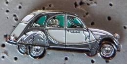 PIN´S VOITURE CITROEN 2 CV CHEVAUX DEUDEUCHE - Citroën