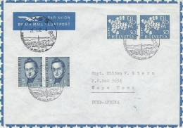 Switzerland   Letter Sent To South Africa.  # 927 # - Switzerland
