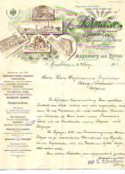 Magdeburg - 1901 - Maschinen Fabrik - Non Classés