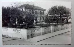 B2326 * PORTUGAL. VILA REAL DE SANTO ANTÓNIO. Escola Primária. Postal Fotográfico / Photographic Postcard - Faro