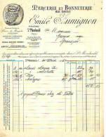 Ste Ménehould - 1935 - Mercerie Et Bonneterie En Gros - Emile Humignon - Frankreich