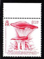 Montserrat MNH Scott #772 $1.15 Cantharellus Cinnabarinus - Mushrooms - Montserrat