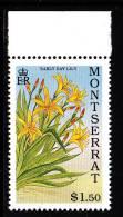 Montserrat MNH Scott #778 $1.50 Early Day Lily - Lilies - Montserrat