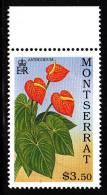 Montserrat MNH Scott #779 $3.50 Anthurium - Lilies - Montserrat
