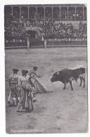 España Tarjeta Postal Corrida Toros  - Postcard AK Cpa (W3_602) - Corridas
